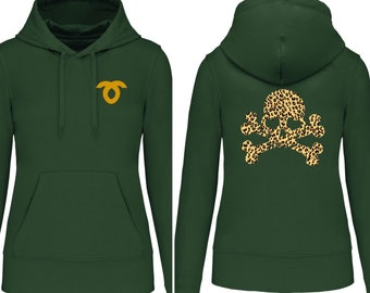 Hoodies for the whole family Skull with hearts