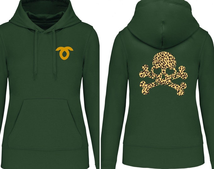 Featured listing image: Hoodies for the whole family Skull with hearts