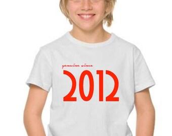 Boy t-shirt or body GENUINE SINCE...