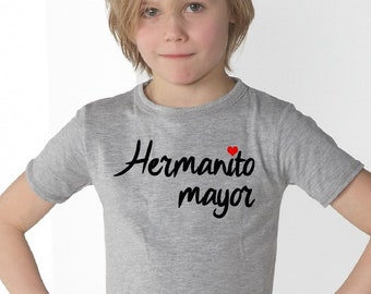 Boyt-shirt or body HERMANITO MAYOR