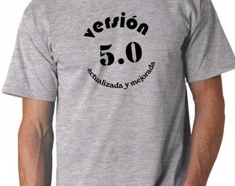 Round neck men long sleeve t-shirt VERSION ACTUALIZADA y MEJORADA