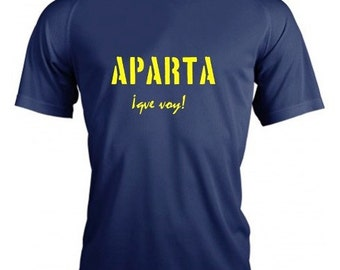 Running round neck men t-shirt APARTA que voy