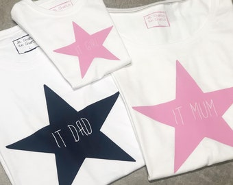 T-shirt for the show family STAR IT FAMILY