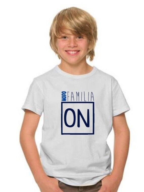 Boy t-shirt or body MODO FAMILIA ON