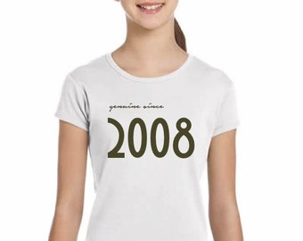 Girl t-shirt or body GENUINE SINCE...