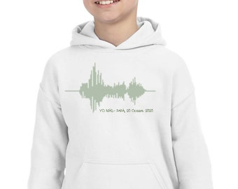 Adults or children t-shirt or sweater VOICE WAVES. Exclusive moments