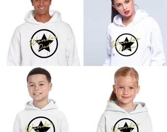 Pack long sleeve grey hoodies WONDER FAMILY