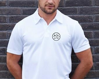 Polo t-shirt for men De Tee En Tee logo in different colors.