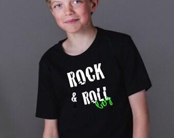 Boy t-shirt or body ROCK & ROLL BOY
