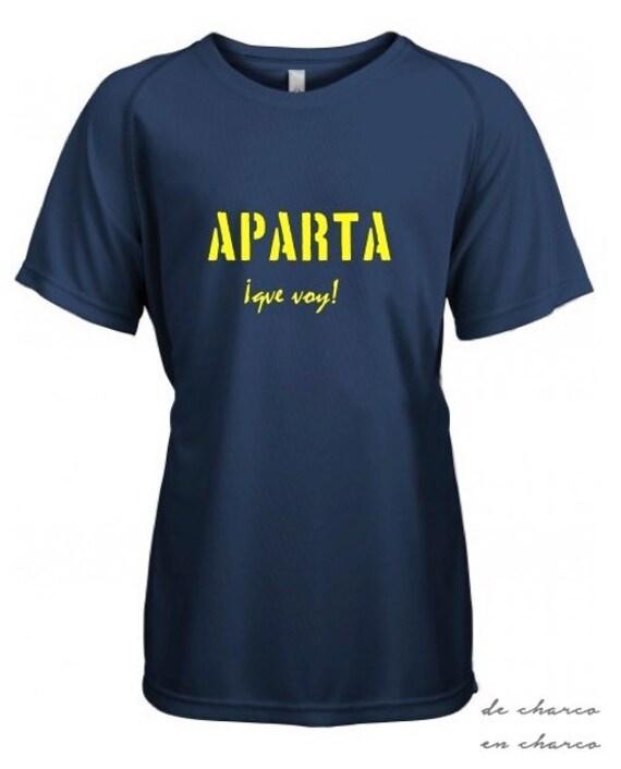 Running round neck kids t-shirt APARTA QUE VOY