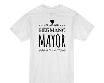 Boy t-shirt MEJOR HERMANO MAYOR (best big brother)