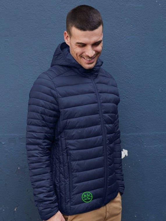 Men's hooded Lightweight Down jacket