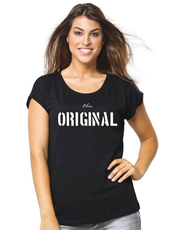 Round neck women t-shirt THE ORIGINAL