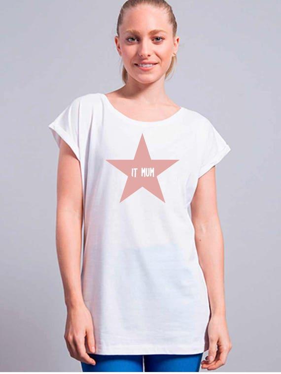 Women tee IT MUM in a STAR