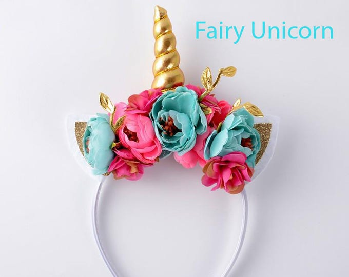 Featured listing image: Fairy Unicorn Headband
