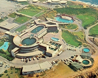 Vintage 1964 Marineland of the Pacific Postcard, Closed Marineland Postcard, Palos Verdes Postcard, Tourist Attraction California Postcard