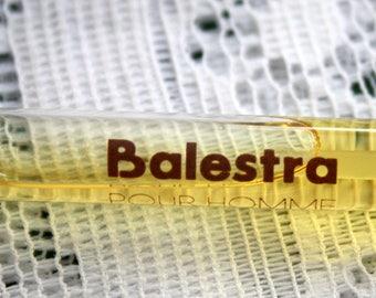 Balestra Pour Homme  Vintage Perfume Sample, Renato Balestra Balestra For Men, Men's Vintage Cologne