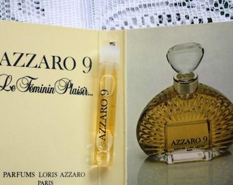 Azzaro 9 by Louis Azzaro Paris, Azzaro 9 Perfume Sample, Azzaro 9 Fragrance Sample, Azzaro 9 Louis Azzaro, Azzaro 9 for Her