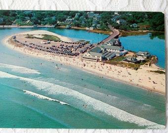Ogunquit Maine Postcard, Vintage Ogunquit Postcard, Ogunquit Beach Postcard, Maine postcard, vintage Maine Beach