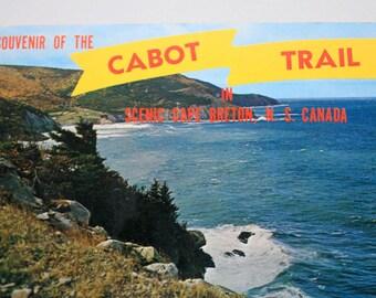 Souvenir of the Cape Breton Island Cabot Trail Postcard, Meat Cove Cape Breton Postcard, Nova Scotia Postcard, Nova Scotia Souvenir