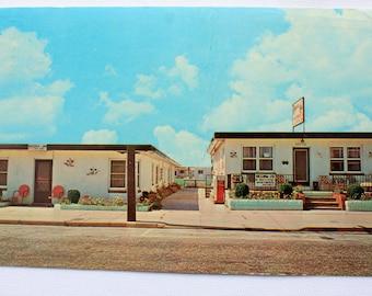 Regina-Jo Motel Wildwood New Jersey Postcard / Vintage Motel Postcard / Wildwood Postcard