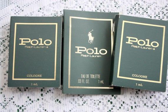 Polo Ralph Lauren Perfume Sample Polo Cologne Polo eau de   Etsy b286dbd1f39d