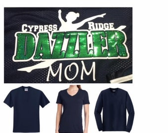 T-Shirt Dazzler Mom - Spangle