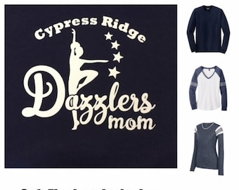 Long Sleeve - Dazzlers Mom - Flock