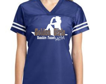 Golden Girls Mom Spangle Poly Jersey with optional name on back