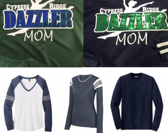 Long Sleeve - Dazzler Mom - Spangle