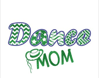 Dance Mom Hat Digital File  SVG, ESP, PNG, Jpg File