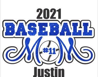 Baseball Mom design Digital File  SVG, ESP, PNG, Jpg File