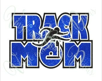Track Mom Boy Hurdle Digital File  SVG, ESP, PNG, Jpg File
