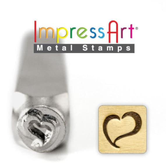 Metal Stamping Texas Stamp Steel ImpressArt Punch Tool State Steel 6mm