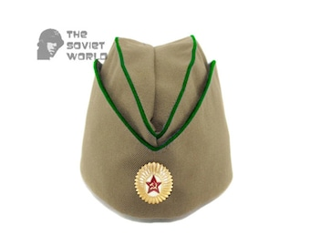 14007d276a3 Soviet russian military border guards department Officer s summer hat  Pilotka
