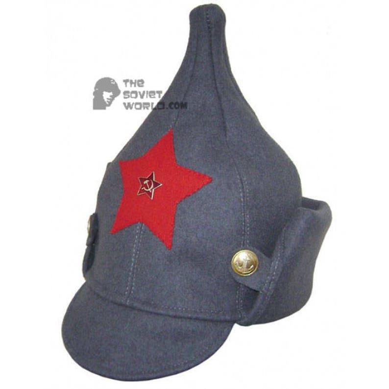 100946d105f Soviet RKKA infantry russian Red Army woolen winter hat