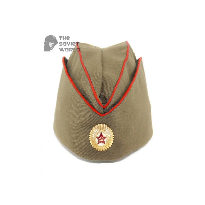 USSR RKKA russian soviet combat military summer hat Pilotka  425ec38e1ad