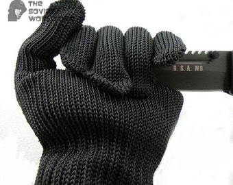 Russian special force protective Tactical airsoft gloves kevlar with steel thread