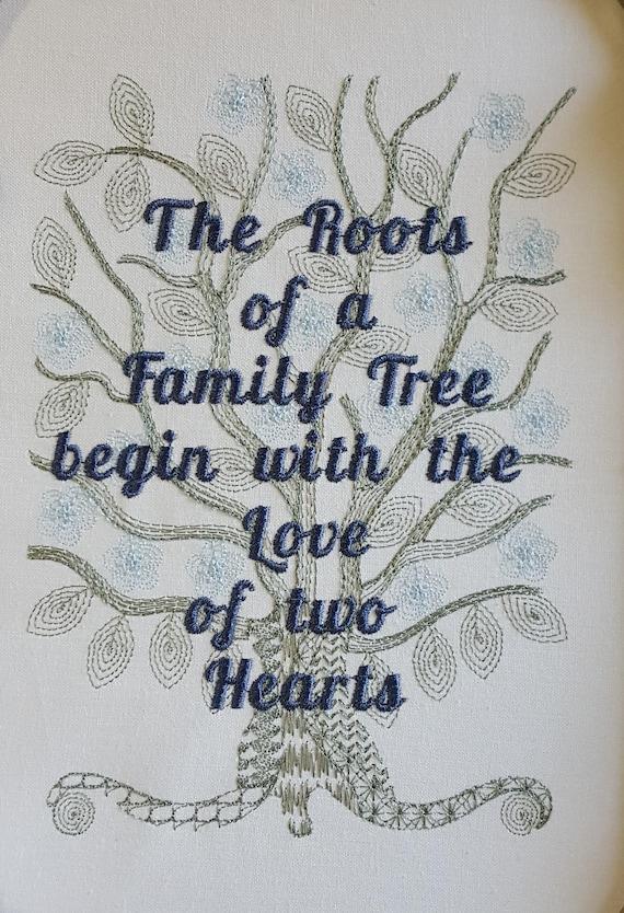 Family Tree Quotes Borduurwerk Ontwerpen Familie Sayings Etsy