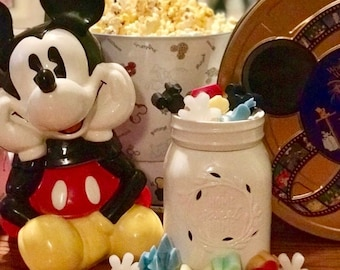 Disney Parks Inspired | Shaped & Scented | Soy Wax Melts | Disney Candles | Birthday Gift | Disney Gift | Handmade | Free Shipping!