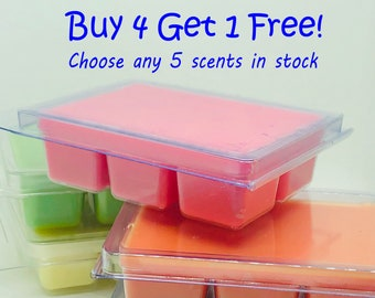 Buy 4 Get 1 Free | Soy Wax Melts | Theme Park Scents | Novelty Scents | Seasonal Scents | Movie Scents | Free Shipping | 3oz.