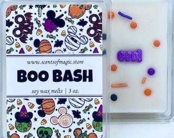 Boo Bash | Disney Halloween Inspired | Candy Scented | Soy Wax Melts | Halloween Wax Melts | Disney Wax Melts | Free Shipping | 3oz.