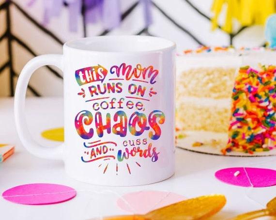 Funny Mothers Day Gift, Coffee Mug for Mom, Homeschool Mom, New Mom, Mom Birthday Gift, Boy Mom Life, Chaos Coordinator, Trendy Mom Gift