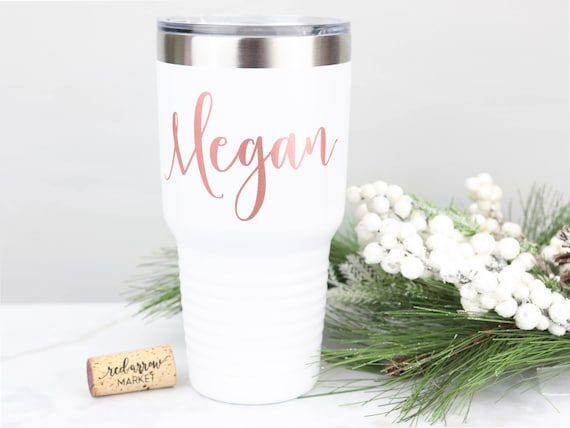 Personalized 30 oz Tumbler - Stainless Steel Polar Camel - Summer Wedding Bachelorette Party Favors, Girls Trip, Custom Tumbler with Lid