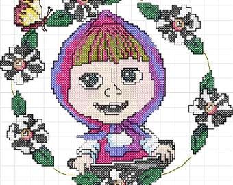 Mafi cross stitch machine embroidery
