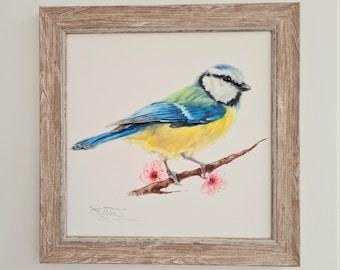 Garden Bird Print- Bird Print- Anniversary Gift- Easter Gift for Him & Her