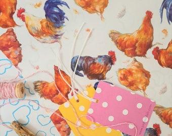Chicken Wrapping Paper - Chicken Gift - Farm yard Wrapping Paper- Bird Wrapping Paper - Easter Gift Wrap