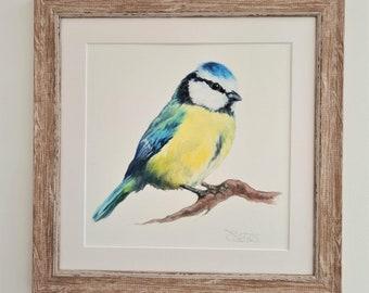 Garden Bird Print- Bird Print- Anniversary Gift- Easter Gift for Her & Him