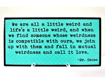 Dr Seuss Weird Love Etsy
