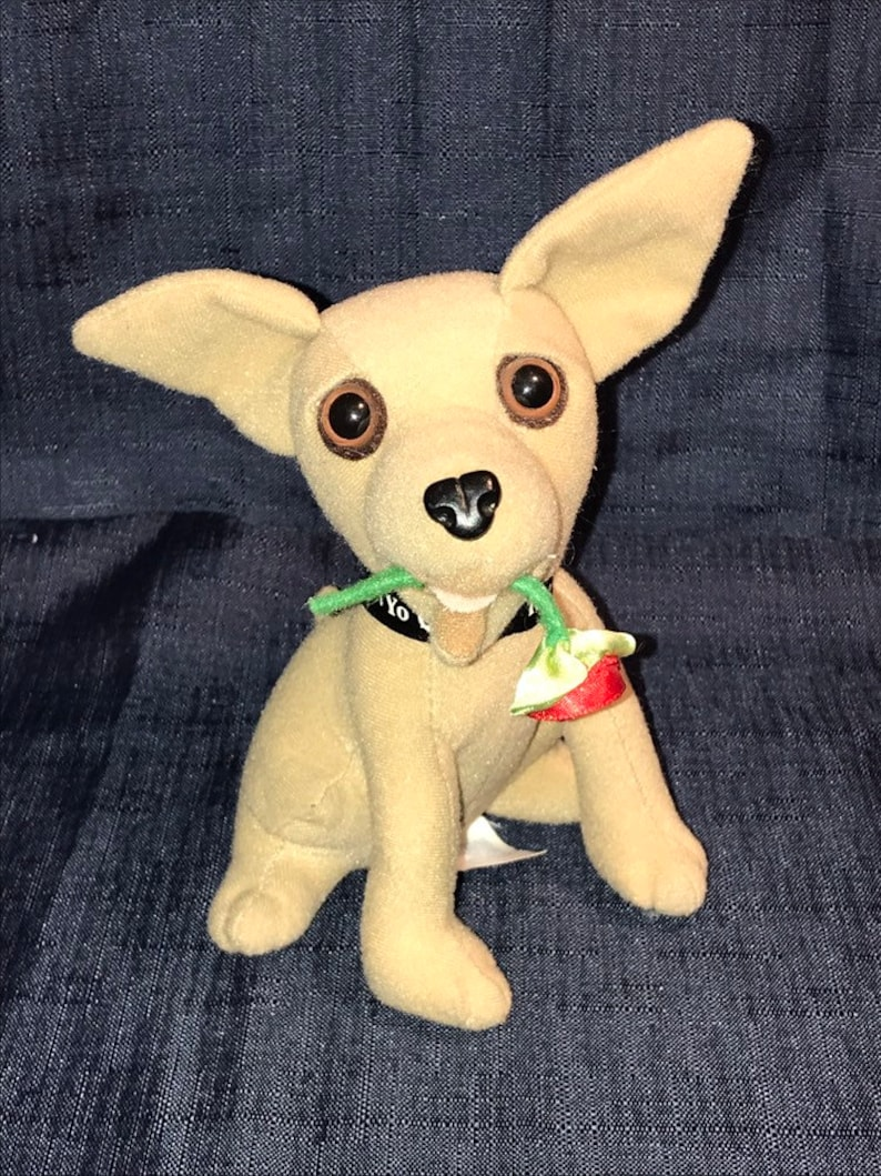 Vintage 1990/'s Chihuahua Yo Quiero Taco Bell Taco Bell Dog Collectible Dogs